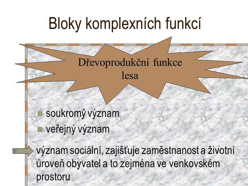 Bloky komplexních funkcí