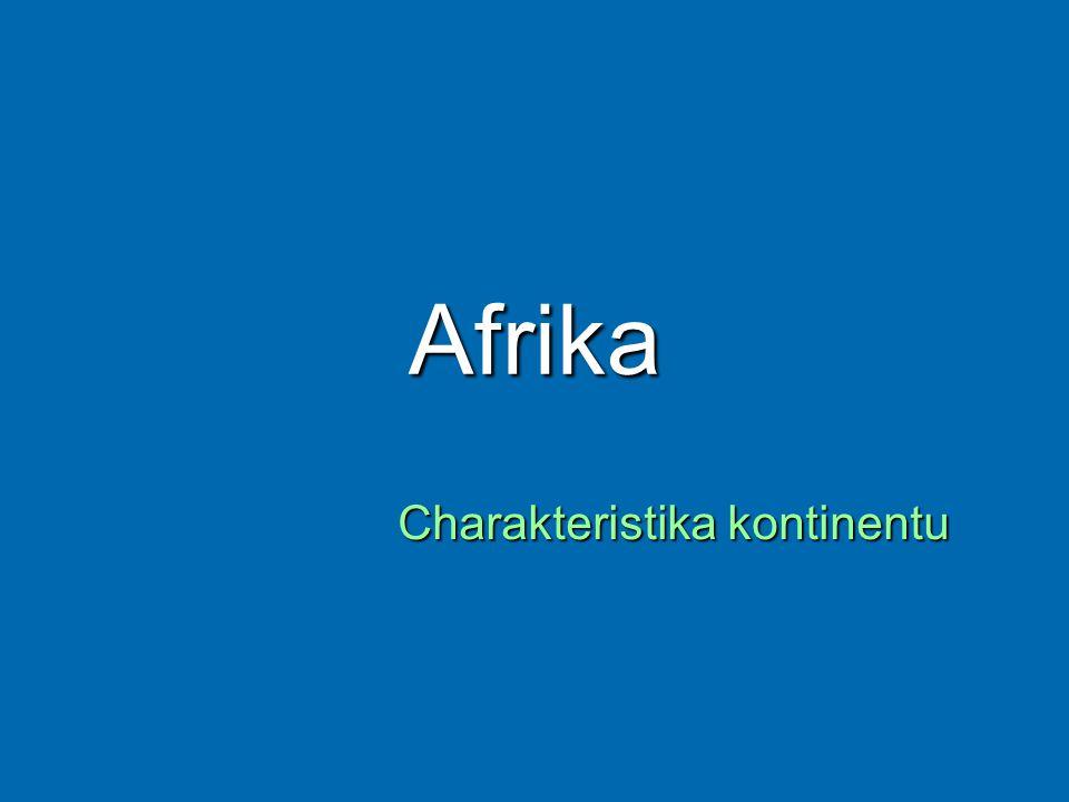 Charakteristika kontinentu