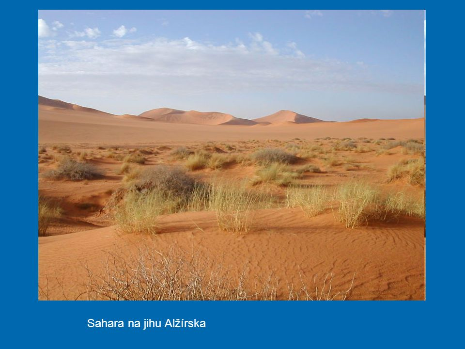 Sahara na jihu Alžírska