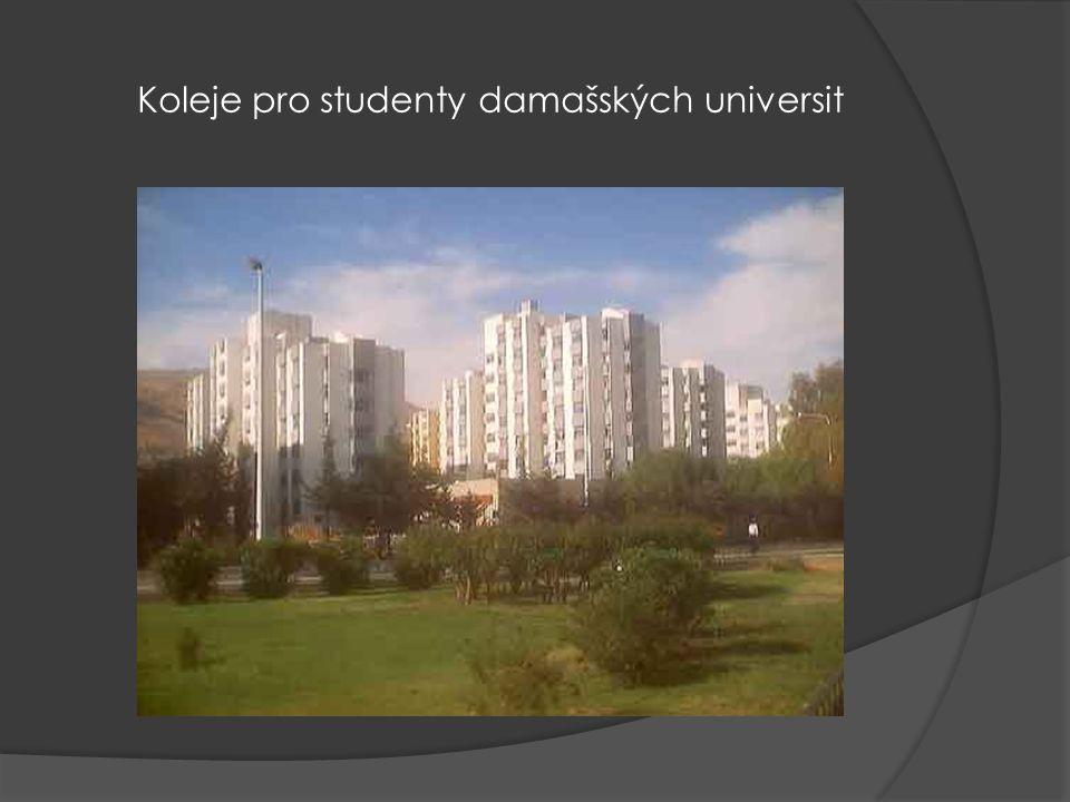 Koleje pro studenty damašských universit