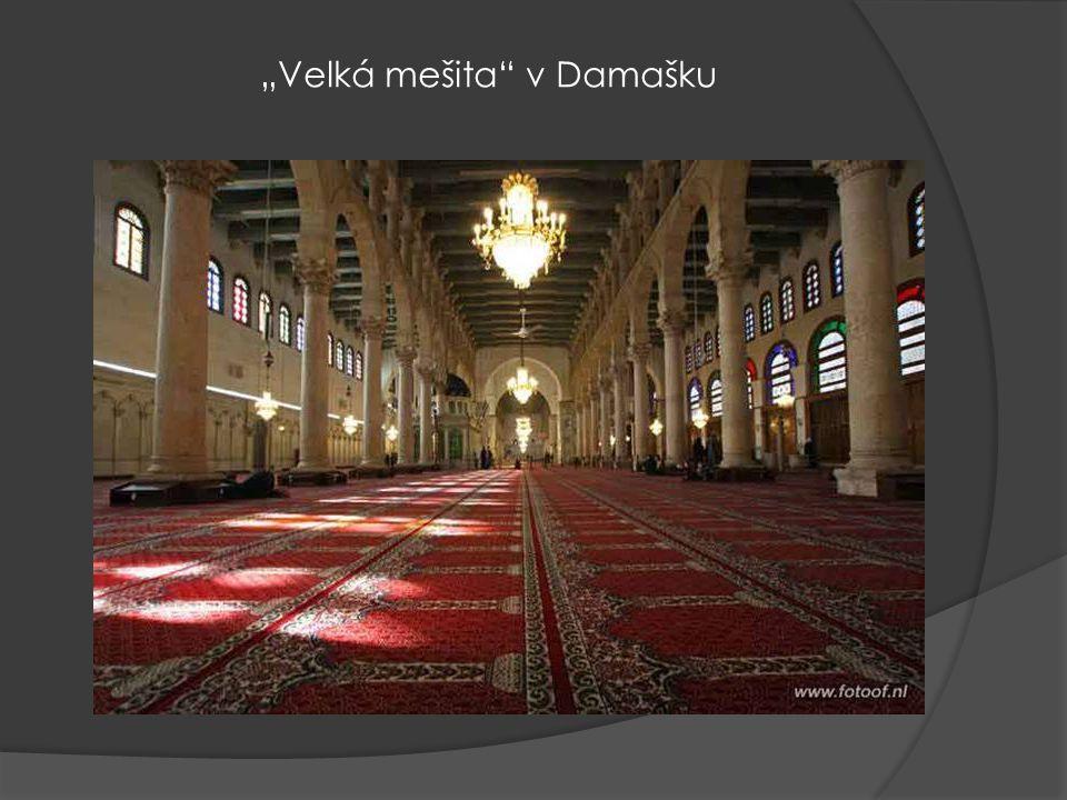 """""""Velká mešita v Damašku"""