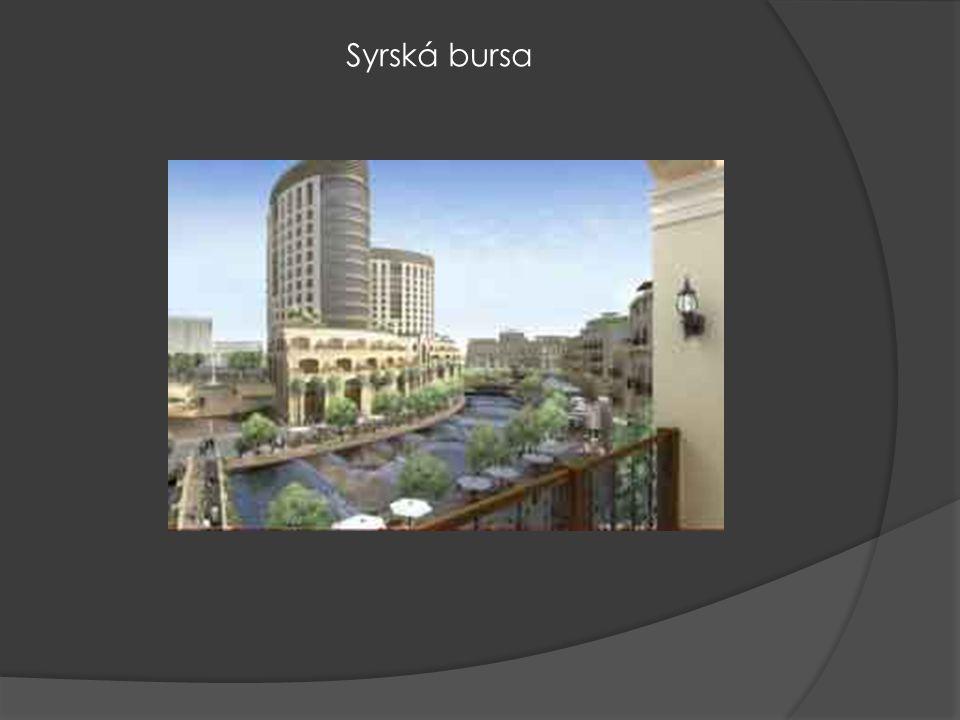 Syrská bursa