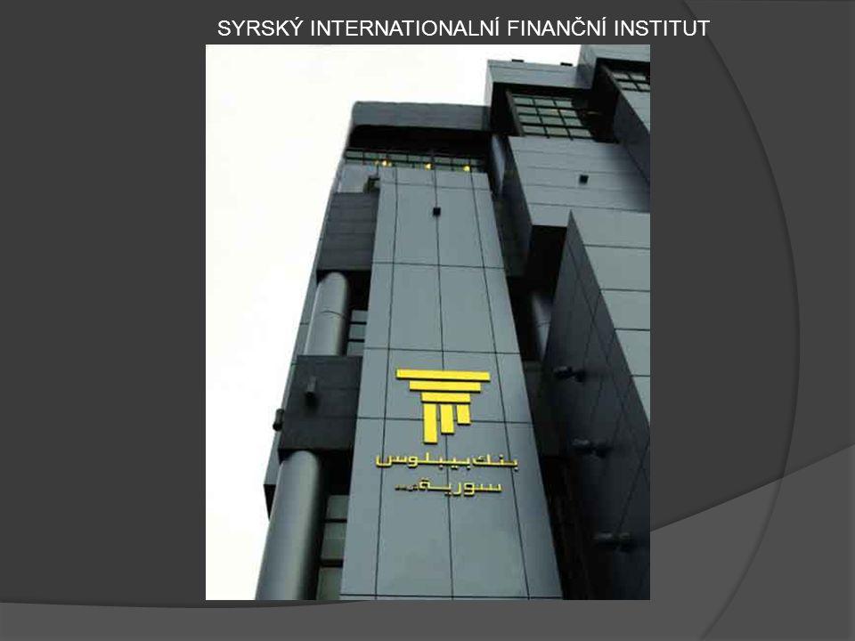 SYRSKÝ INTERNATIONALNÍ FINANČNÍ INSTITUT