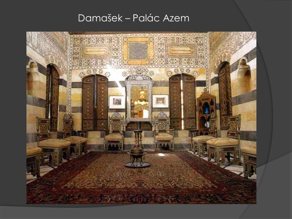 Damašek – Palác Azem