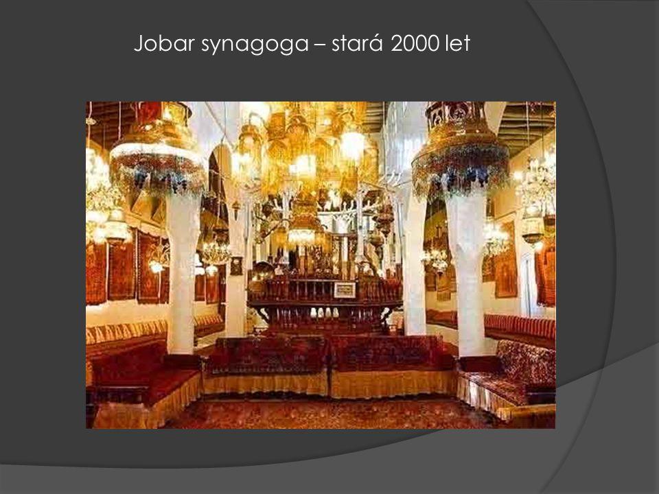 Jobar synagoga – stará 2000 let