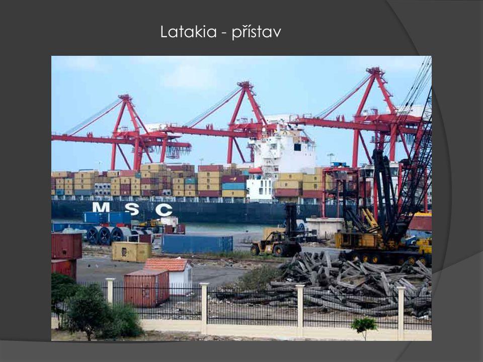 Latakia - přístav