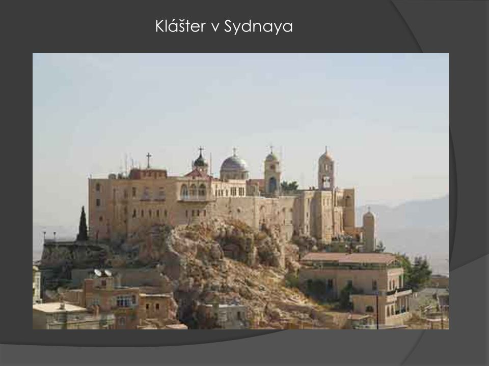 Klášter v Sydnaya