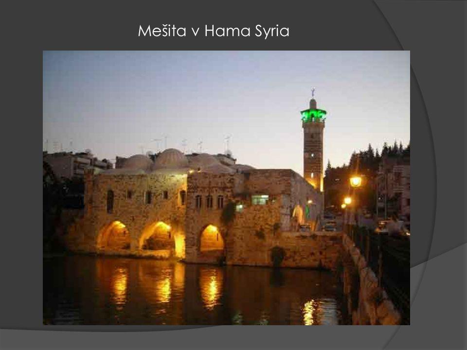 Mešita v Hama Syria