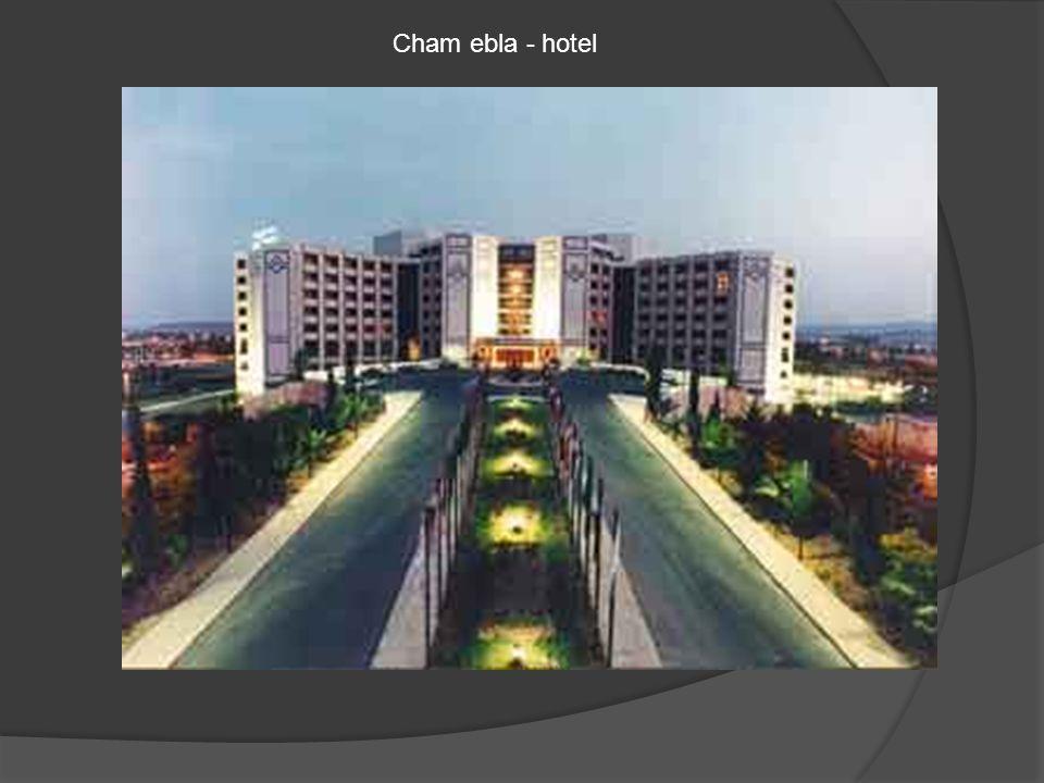 Cham ebla - hotel