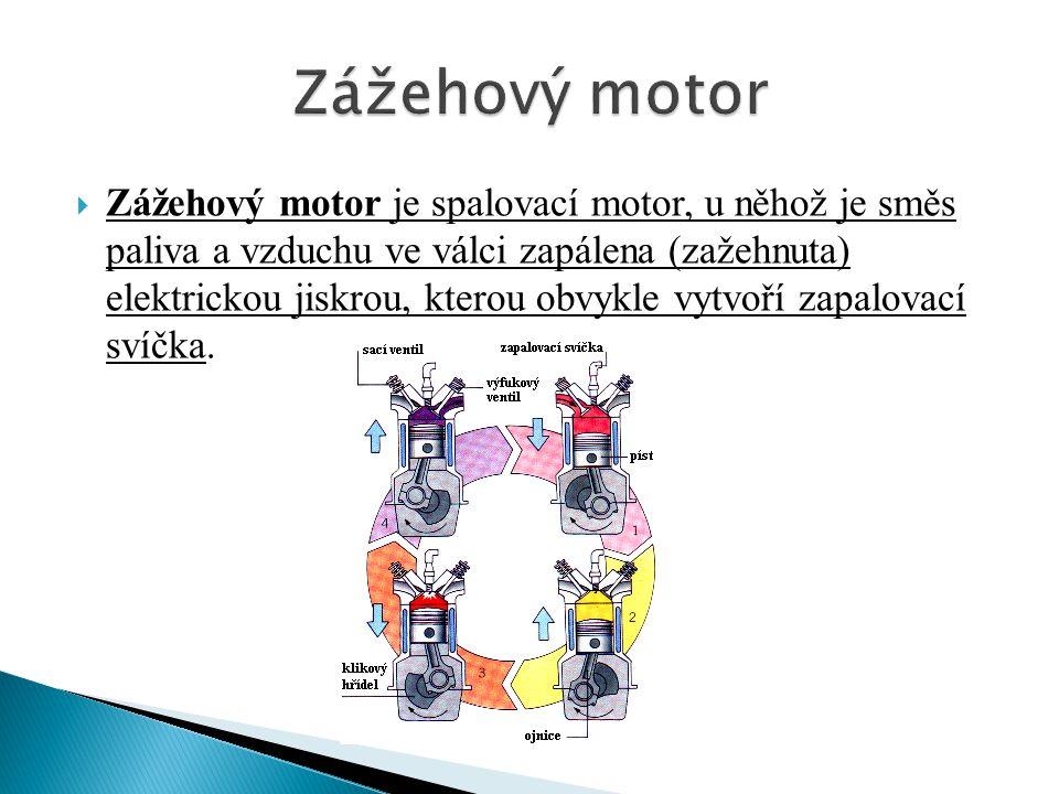 Zážehový motor