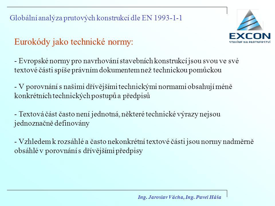 Eurokódy jako technické normy: