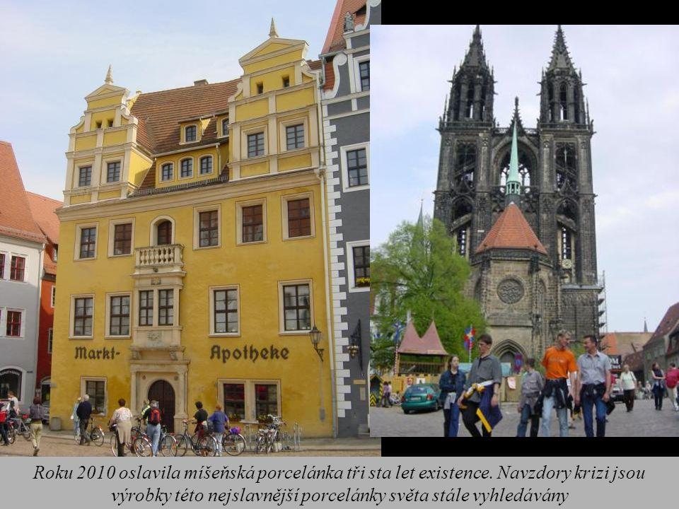Roku 2010 oslavila míšeňská porcelánka tři sta let existence