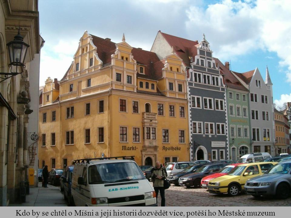 Kdo by se chtěl o Míšni a její historii dozvědět více, potěší ho Městské muzeum