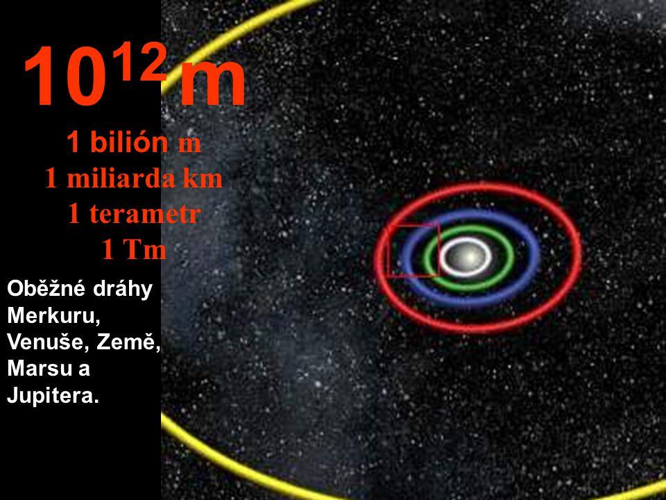 1012 m 1 bilión m 1 miliarda km 1 terametr 1 Tm