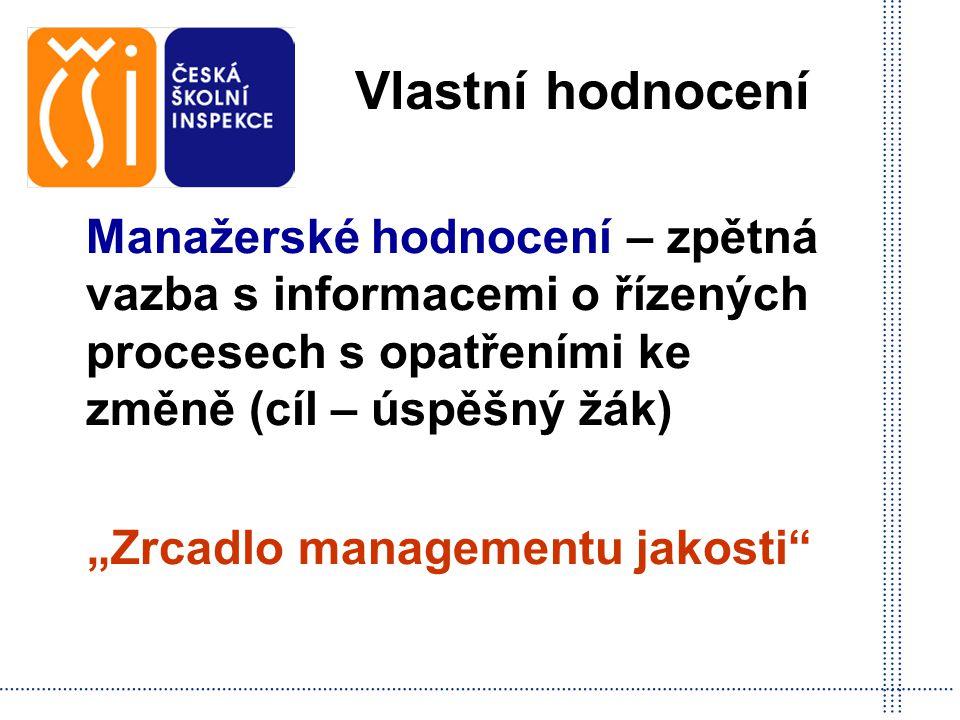 """""""Zrcadlo managementu jakosti"""