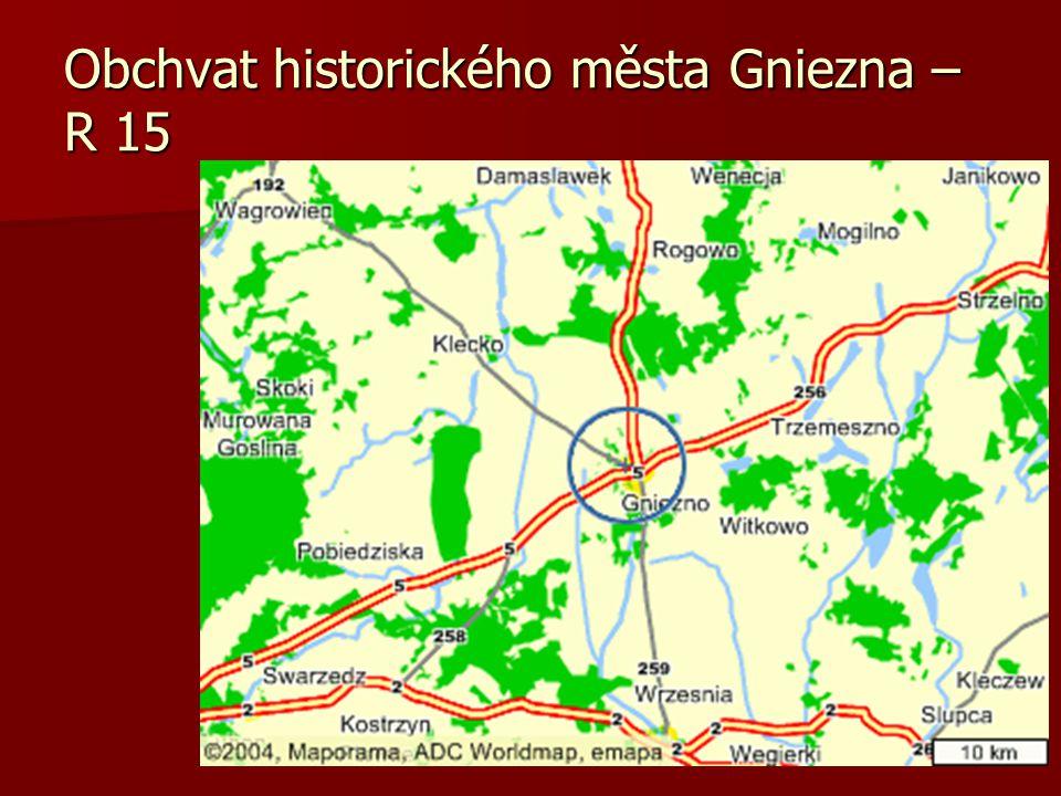 Obchvat historického města Gniezna – R 15