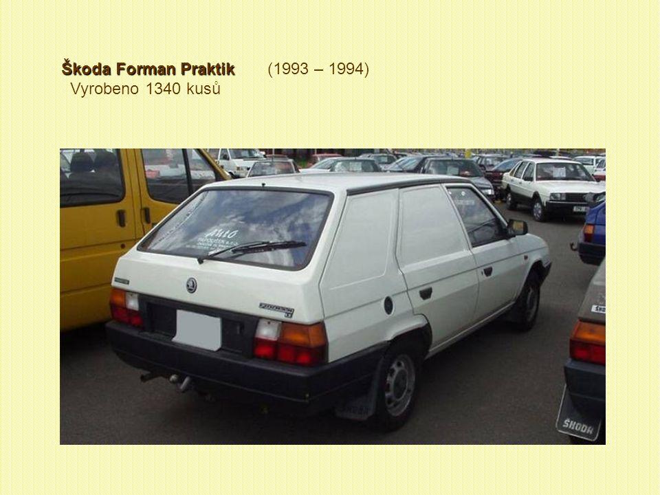 Škoda Forman Praktik (1993 – 1994)
