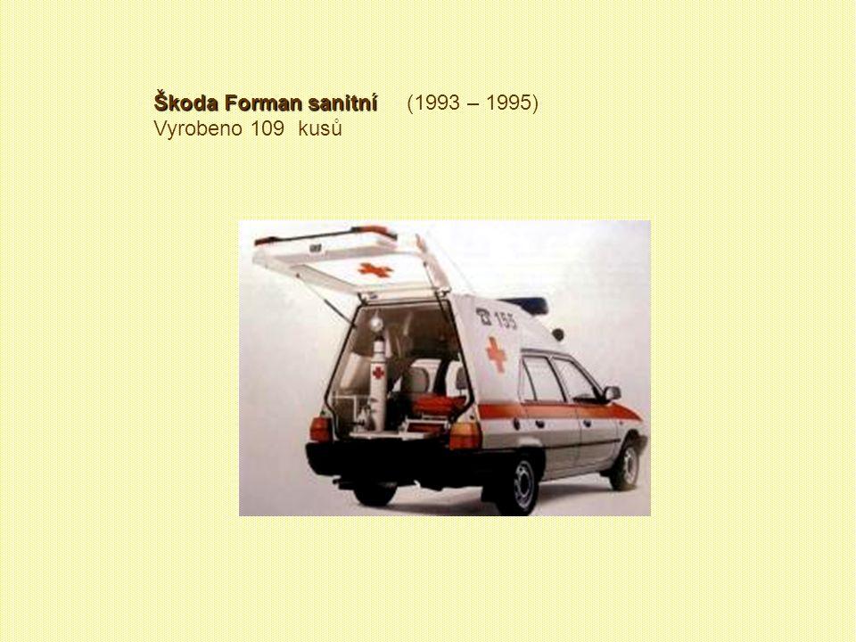 Škoda Forman sanitní (1993 – 1995)