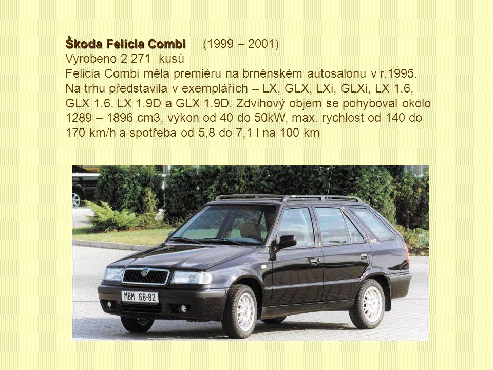 Škoda Felicia Combi (1999 – 2001)