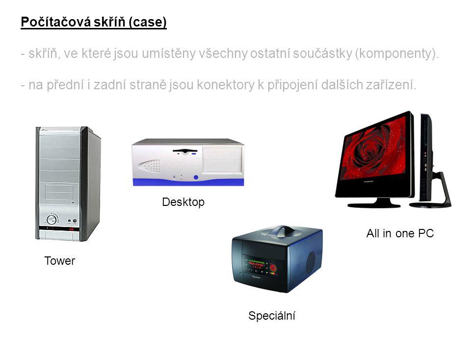 Počítačová skříň (case)