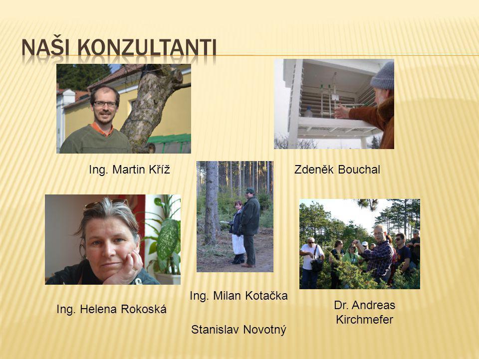 Naši konzultanti Ing. Martin Kříž Zdeněk Bouchal Ing. Milan Kotačka