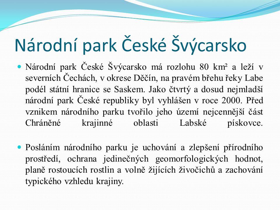 Národní park České Švýcarsko