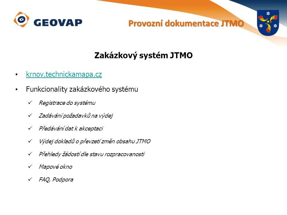 Provozní dokumentace JTMO