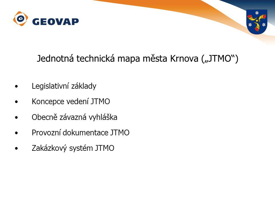 """Jednotná technická mapa města Krnova (""""JTMO )"""