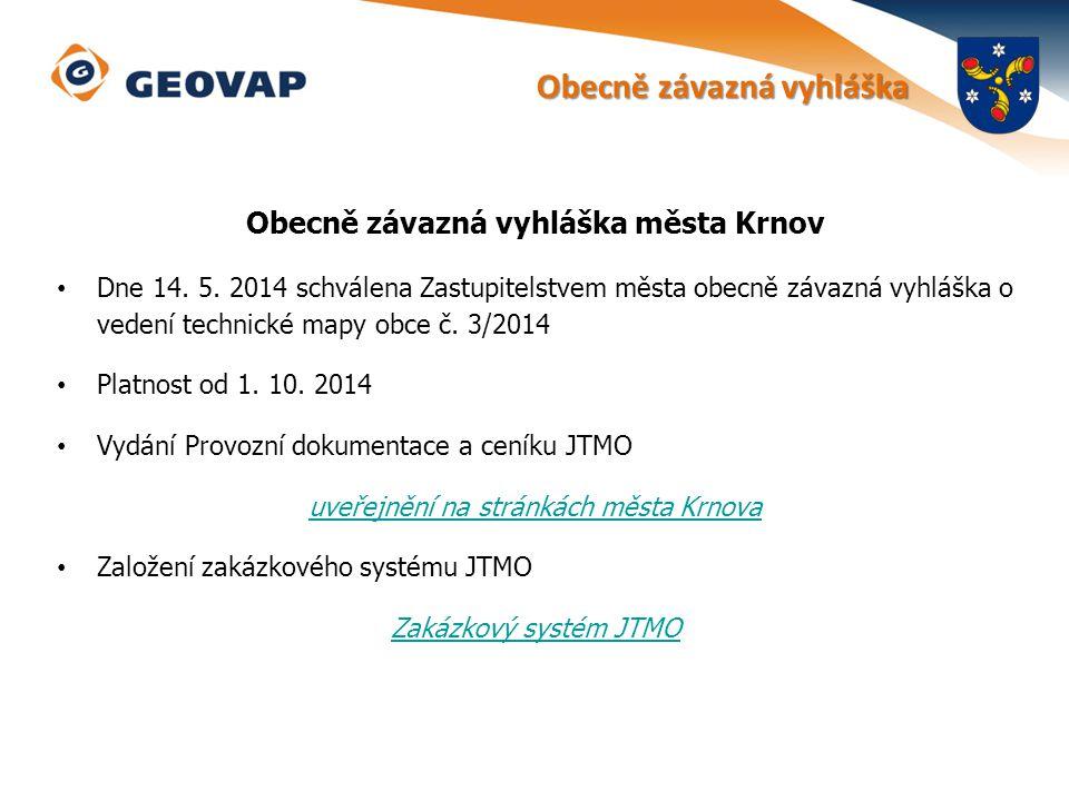 Obecně závazná vyhláška města Krnov