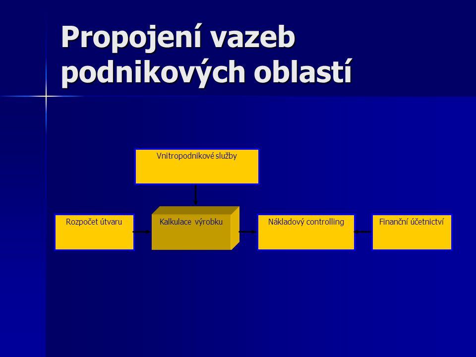 Propojení vazeb podnikových oblastí