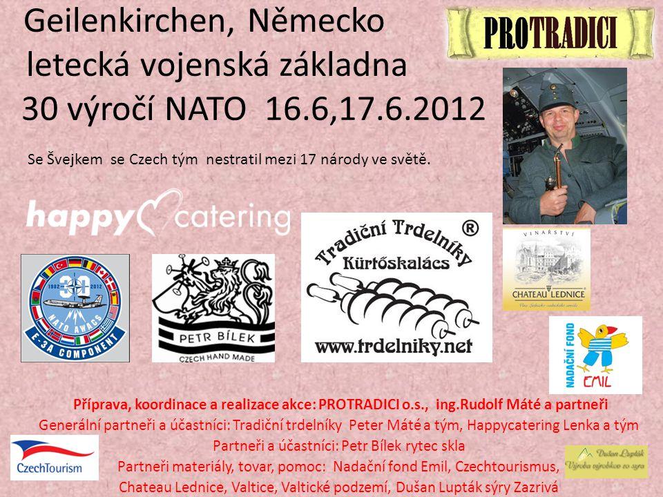Geilenkirchen, Německo letecká vojenská základna 30 výročí NATO 16