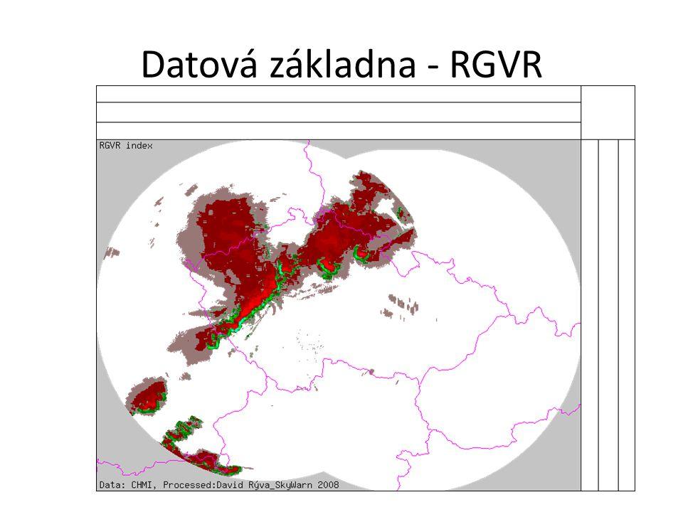 Datová základna - RGVR