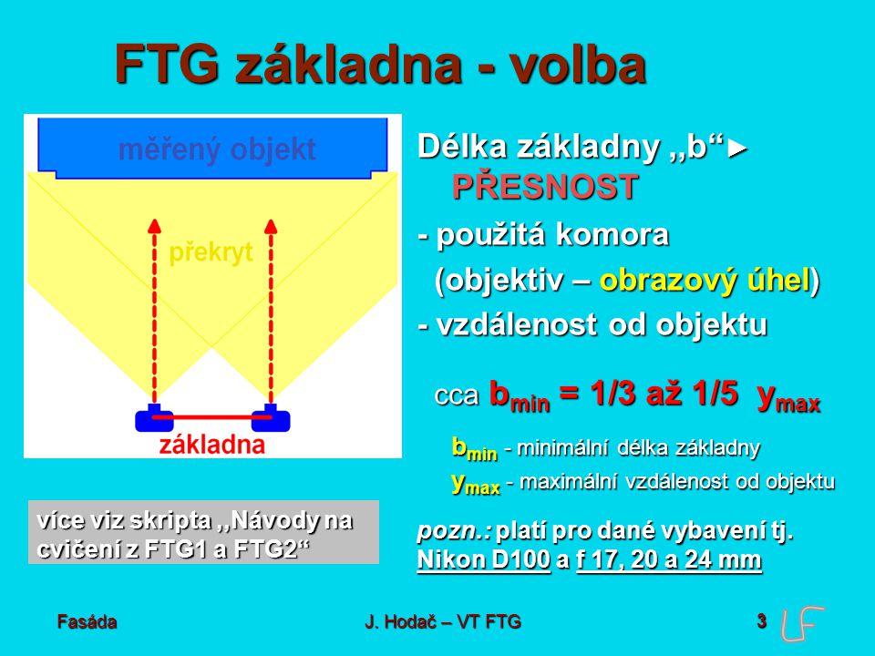 Pořízení snímků Měřická v. neměřická kamera Neměřická digitální kamera