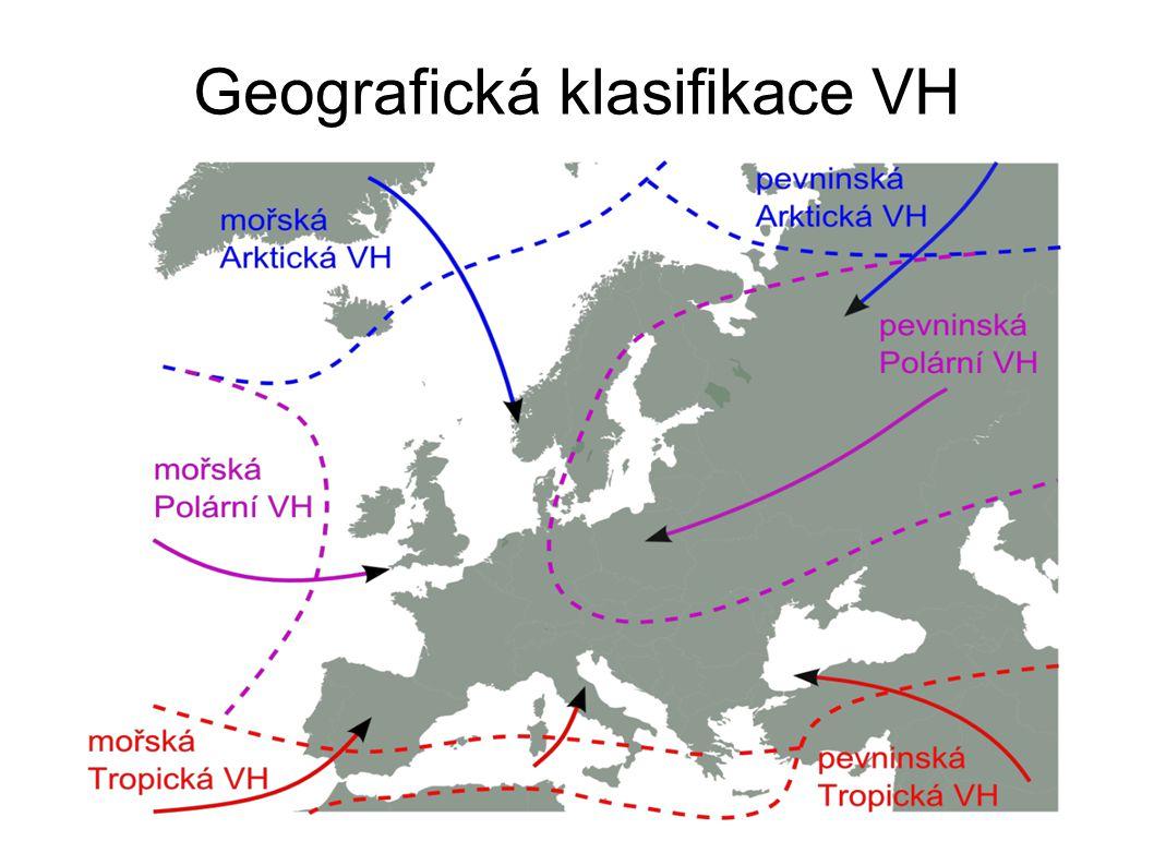Geografická klasifikace VH