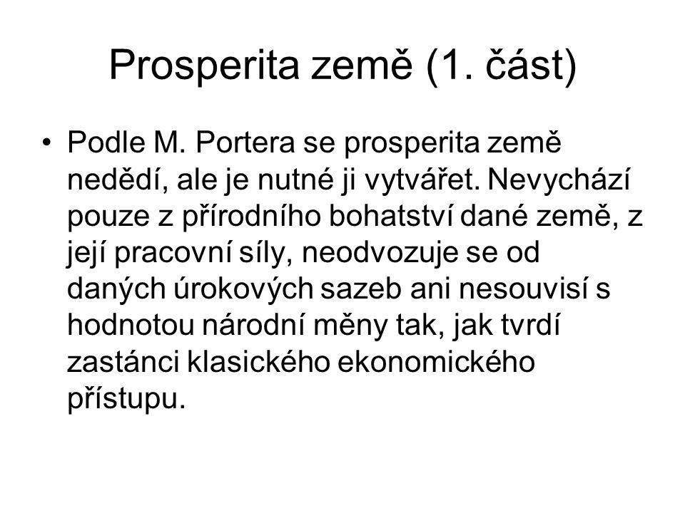 Prosperita země (1. část)