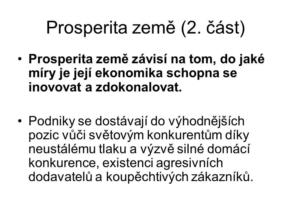 Prosperita země (2. část)