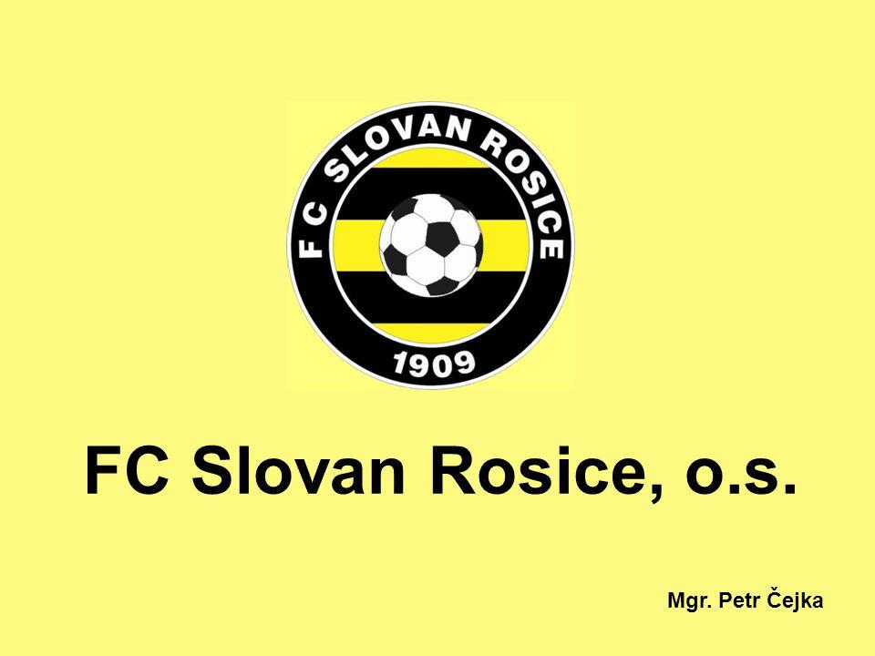 FC Slovan Rosice, o.s. Mgr. Petr Čejka