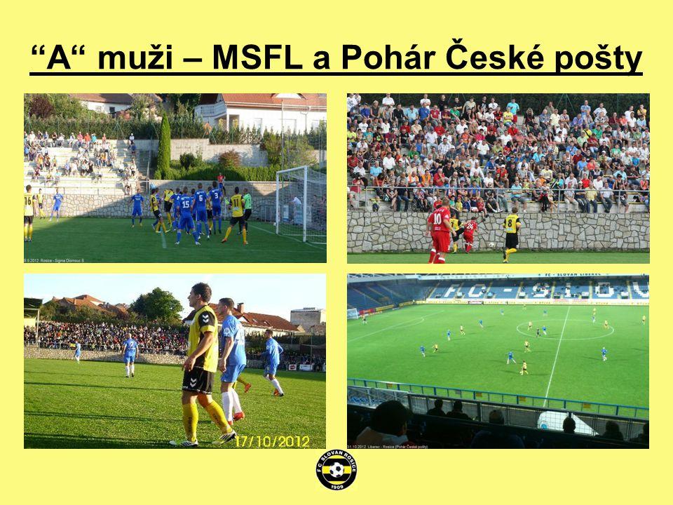 A muži – MSFL a Pohár České pošty
