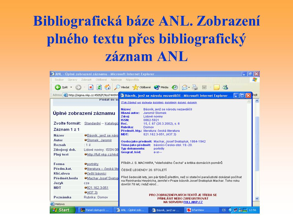 Bibliografická báze ANL