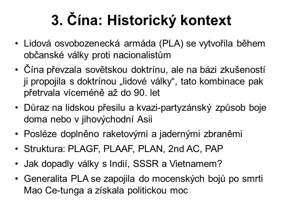3. Čína: Historický kontext