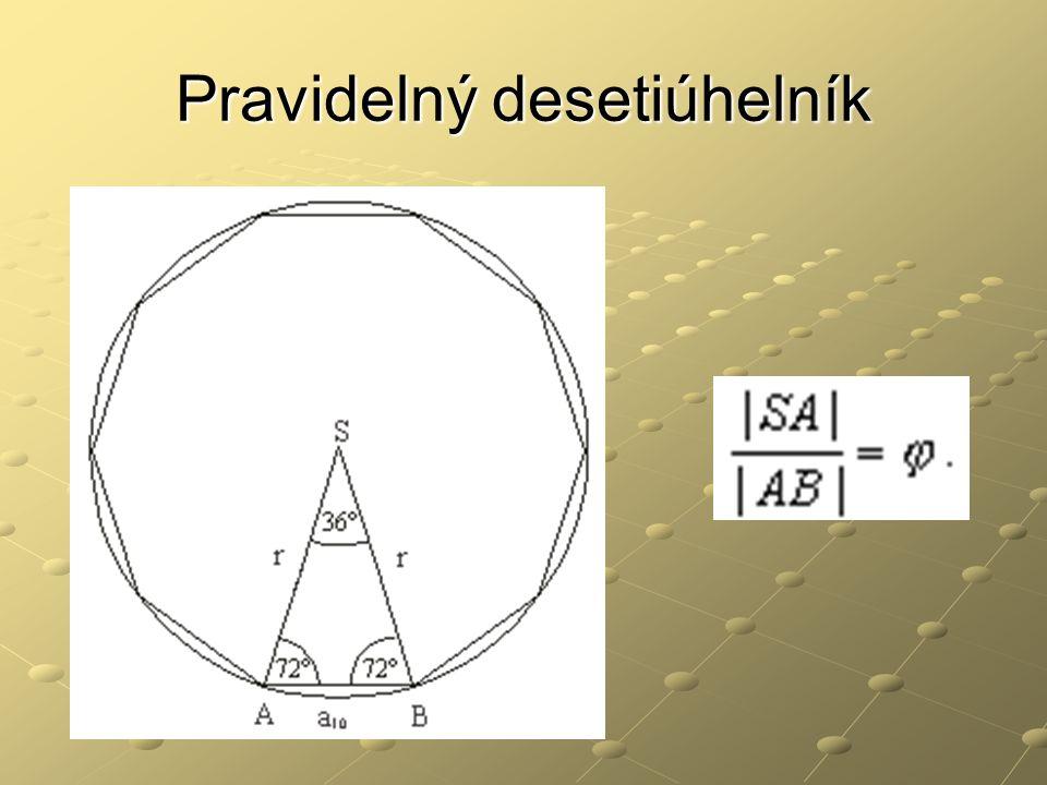 Pravidelný desetiúhelník