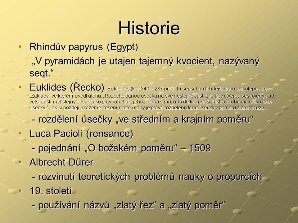Historie Rhindův papyrus (Egypt)