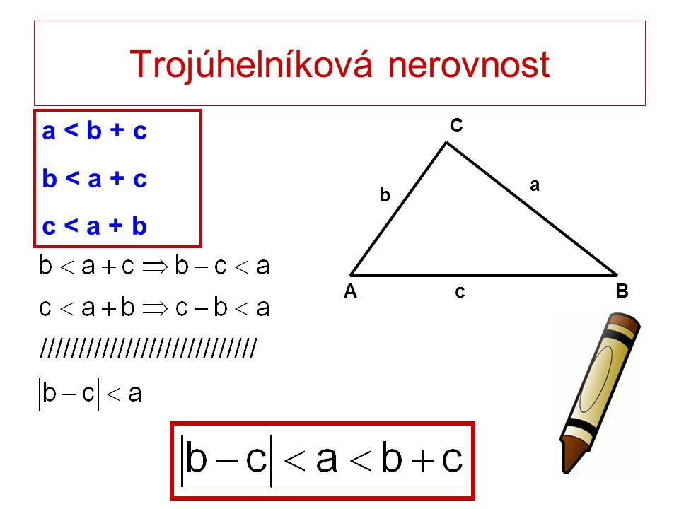 Trojúhelníková nerovnost
