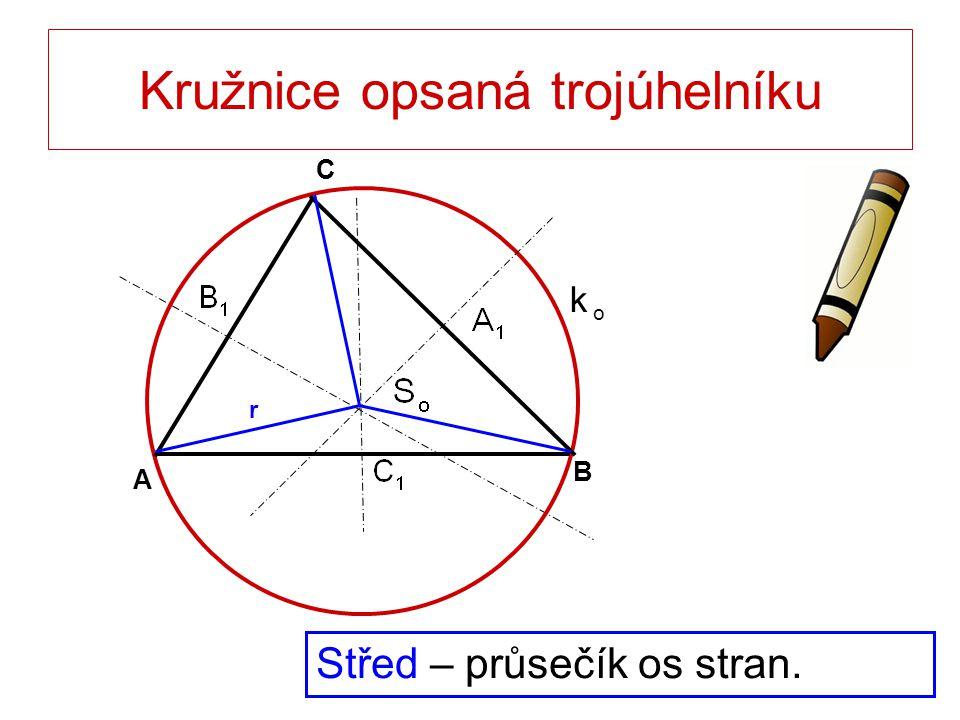 Kružnice opsaná trojúhelníku