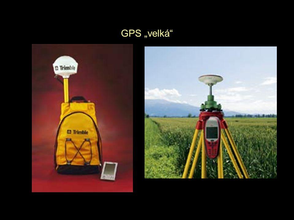"""GPS """"velká"""