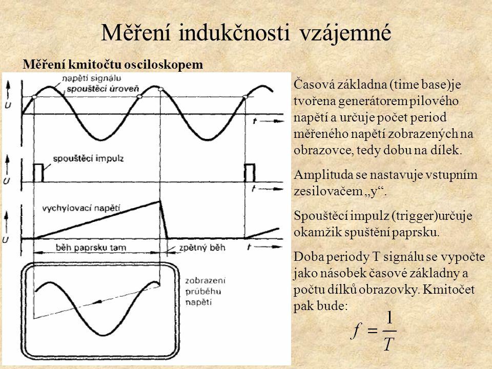 Měření indukčnosti vzájemné