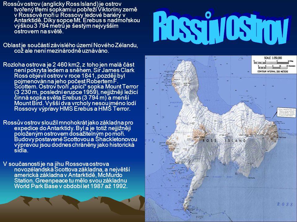 Rossův ostrov (anglicky Ross Island) je ostrov tvořený třemi sopkami u pobřeží Viktoriiny země v Rossově moři u Rossovy ledové bariéry v Antarktidě. Díky sopce Mt. Erebus s nadmořskou výškou 3 794 metrů je šestým nejvyšším ostrovem na světě.