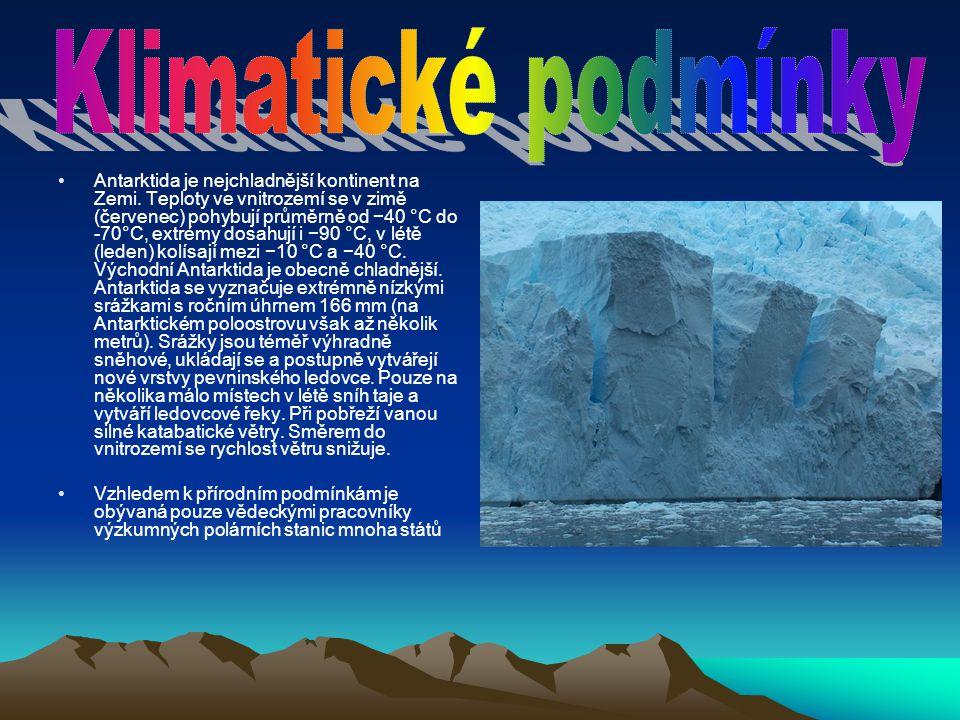Klimatické podmínky