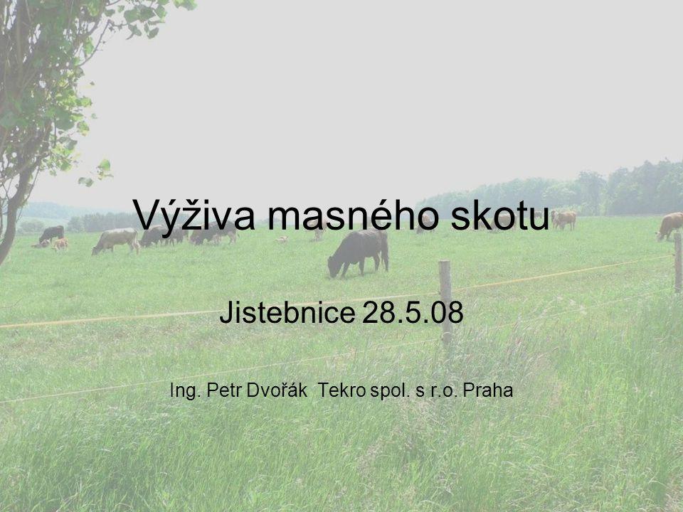 Jistebnice 28.5.08 Ing. Petr Dvořák Tekro spol. s r.o. Praha