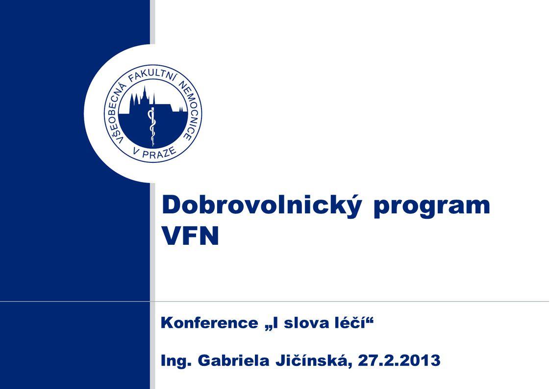 Dobrovolnický program VFN